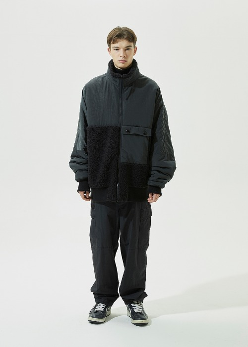 Fleece B-15 Jacket (Black)