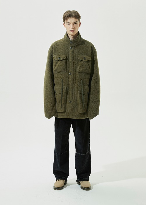 Fleece M-65 Field Jacket (Khaki)